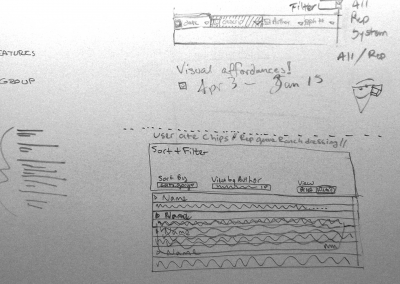 "Sketch for ""Memos"" functionality"