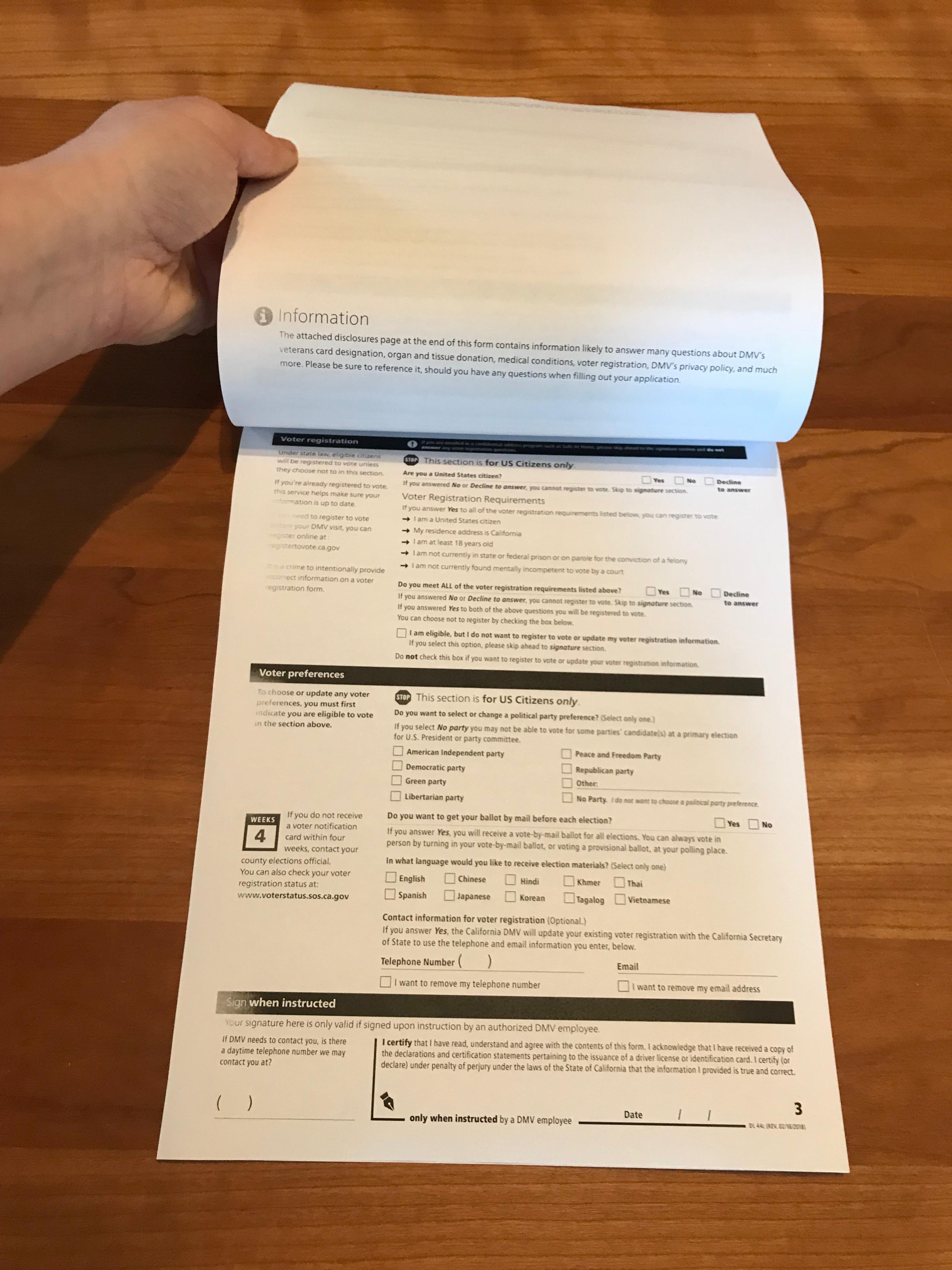 California DMV's motor voter project   nina eleanor alter
