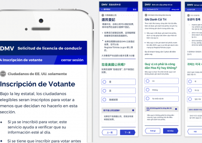 Spanish, Korean, Vietnamese, and Chinese prototypes were all tested with native speakers