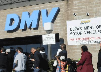California DMV's motor voter project