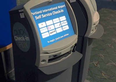 Airport kiosks, early inspiration